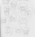 Character Class doddles by Shabazik