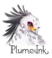 Plume and Ink Commission by CamiFortuna