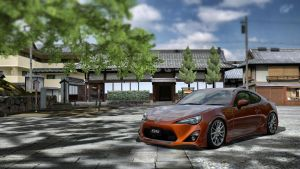 Toyota 86 GT '12 by LS-Coloringlife