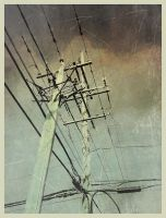 iPhoneography, Hard Wired by Gerald-Bostock