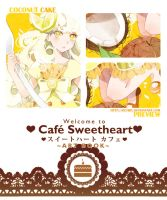 .PREVIEW: Cafe Sweetheart Artbook. by Hetiru
