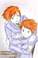 Hitachiin Twins by xXdarkXmageXx