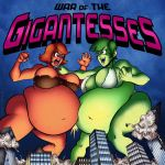 Commission: War of the Gigantesses by Sidkid44