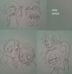 tomodachi life doodles by RainbowSlicer