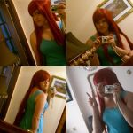 Erza/ Kushina wig test by lenalee9543