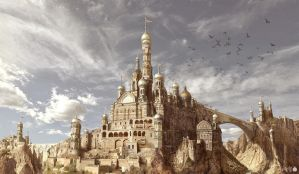 Castle-desert-1120 by ha-min