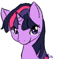 Twilight Sparkle by Pikkinon