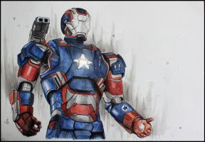 Iron Patriot by SallyGipsyPunk