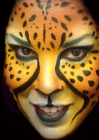 cheetah face by ARTSIE-FARTSIE-PAINT