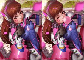 Overwatch D.VA by magion02