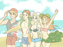 Summer time by ASAMESHII
