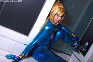 Katsucon 2015 - Zerosuit Samus(PS) 10 by VideoGameStupid