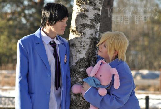 Ouran High School Host Club - Mori and Honey by VersusMemories