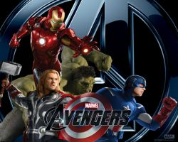 The Avengers Wallpaper 3 by PaulRom