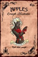 Apple's Cough Medicine by Karla-Chan