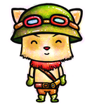 League of Legends: Teemo! by ashlin422