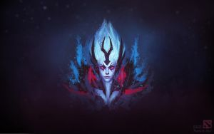Dota 2 Vengeful Spirit Wallpaper by swadeart