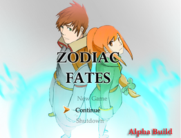 TITLE SCREEN Alpha by KindCoffee
