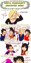Crossover Meme: DBZ and OP by TemBrook