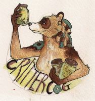 CritterCog Badge by CannedTalent