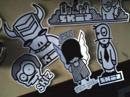 Stickers 2 by abys-kis