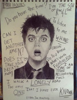 Green Day Doodles by Tr3bor122