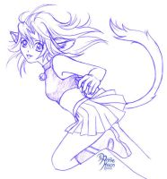 Catgirl by AnnieMsson