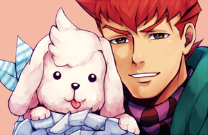 Barnham and Constantine by maesketch