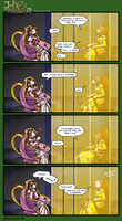 Code Geass - Throneroom Humor by FoxxFireArt
