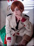 APH Romano- looking away by ChibiMisa94