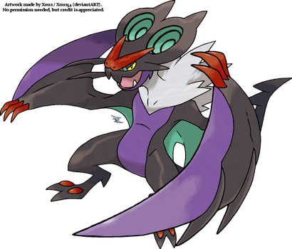Noivern by Xous54