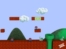 """2D Game """"starter model"""" by Marty--McFly"""