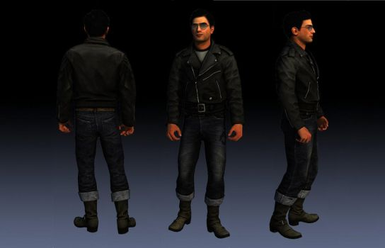 Vito Scaletta Outfit From DLC greaser Skin For SA by Elpadrino1935