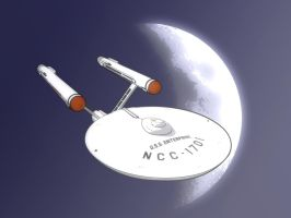 USS Enterprise by ZNECO