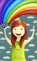 Colorful in a rainy day by ArtAnda