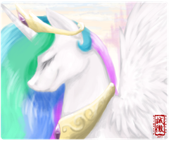 Celestia by Slightly-Stratus