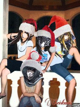 Dota Girls: Christmas by Sinigang-na-Baboy