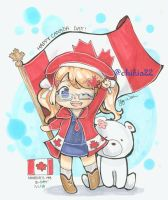 happy canada day! by chikia22