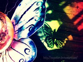 Rainbows and Butterflies by MoPotter