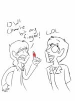 Charlie bit me! by psychedelic-weirdo