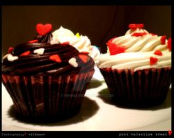 CUPCAKE: Post-Valentine Treat by winRie