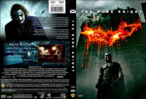 The Dark Knight DVD Jacket by guyperson