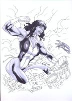 She-Hulk 3 by Rafael0381