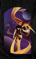 Dark Phoenix, Marvel Villains @welovefine by rafoodle