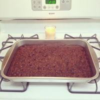 Dark Chocolate Chip Brownies by Deathbypuddle