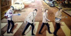 Beatles other Abbey Road by Beatles74i0c