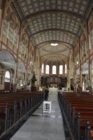 Interior of Cathedral St Louis to Fort De France 2 by A1Z2E3R
