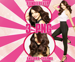 Anushka Png Pack by RanDeepever