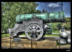 The Tsar Cannon HDR by ISIK5