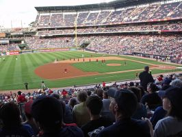 View of Turner Field by jynx67